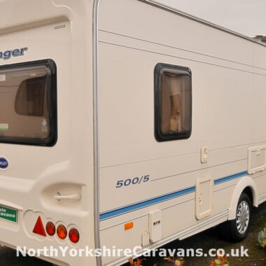Bailey Ranger GT60 4 berth caravan